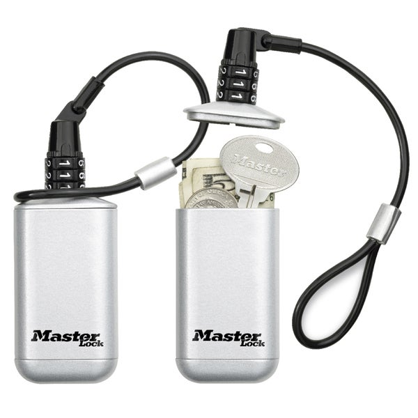 Master Lock 5408D Master Lock Silver Mini Safe