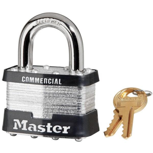 """Master Lock 5KA A451 2"""" No. 5 Laminated Padlock"""