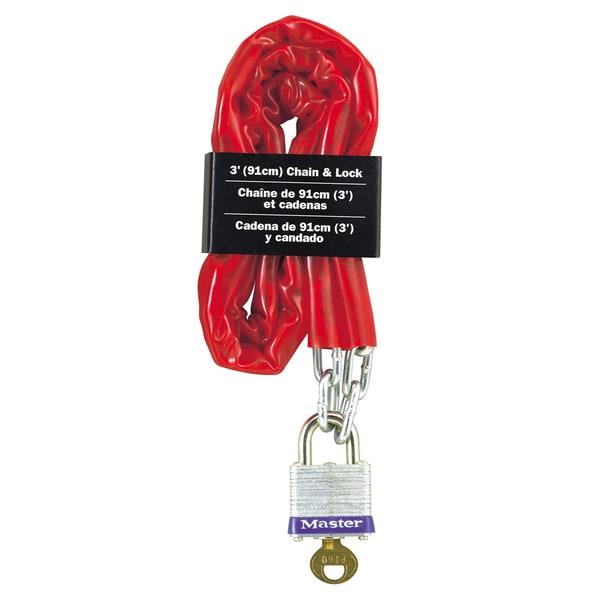 Master Lock 716D Padlock & Chain
