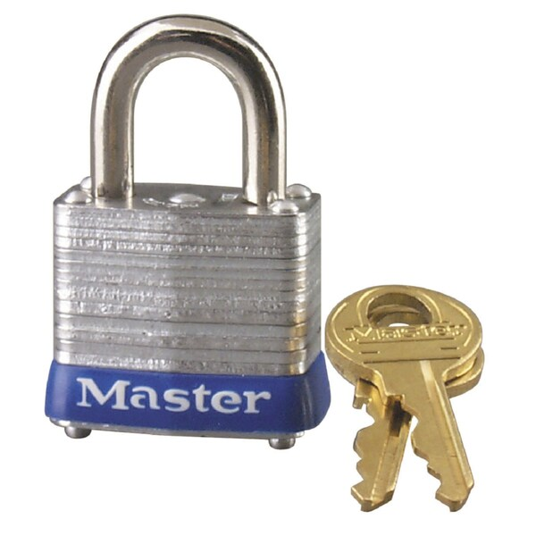 Master Lock 7KAP605 Master Lock Steel Pin Tumbler Padlock