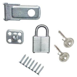"Stanley Hardware 399715 3-1/2"" Padlock & Hasps"