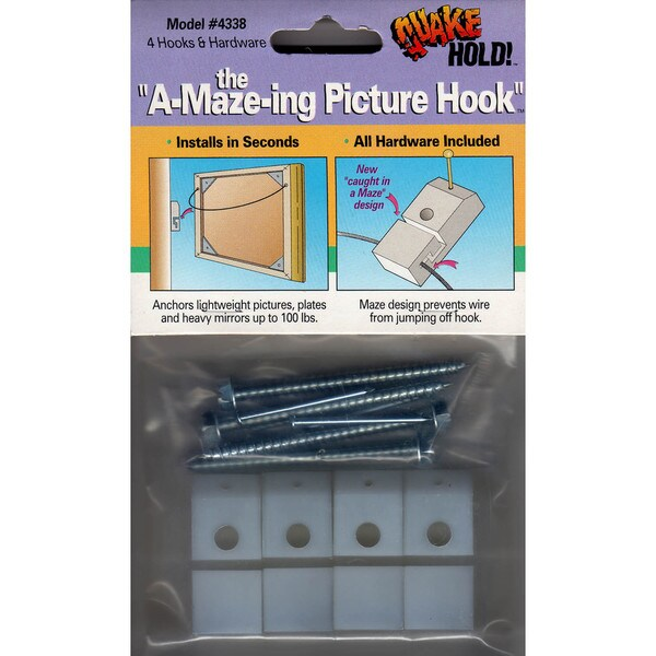 Quake Hold 4338 A-Maze-ing Picture Hook