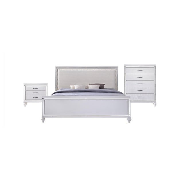 Picket House Vice King 3PC Set in White