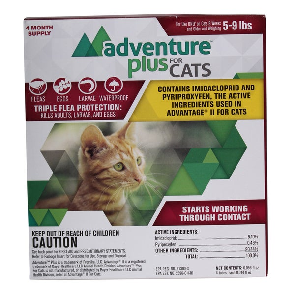 Adventure Plus Flea Control For Cats
