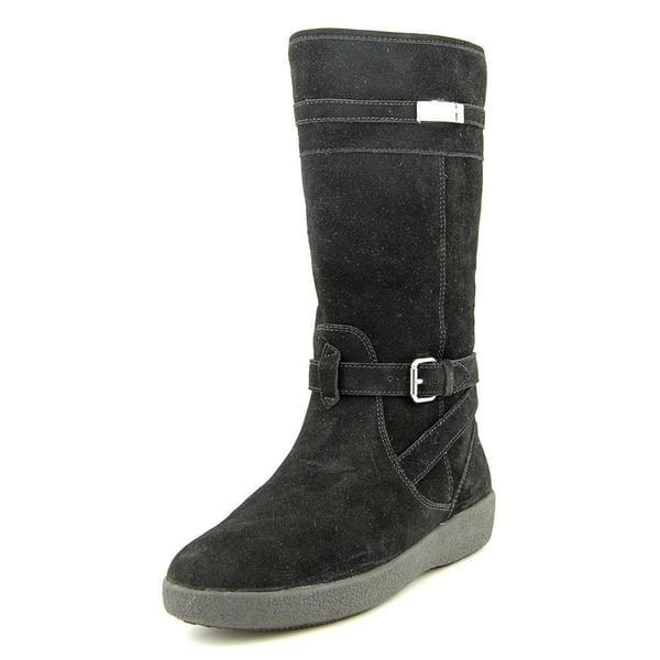 Coach Women's Tallulah Black Suede Boots