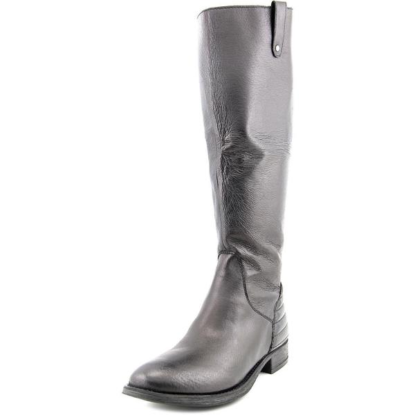 Steve Madden Women's Arries Black Leather Boots