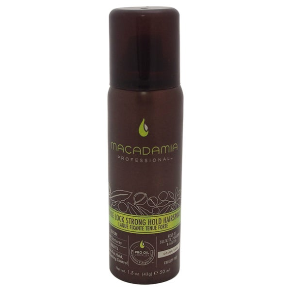 Macadamia 1.5-ounce Style Lock Strong Hold Hair Spray