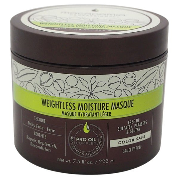 Macadamia 7.5-ounce Weightless Moisture Masque
