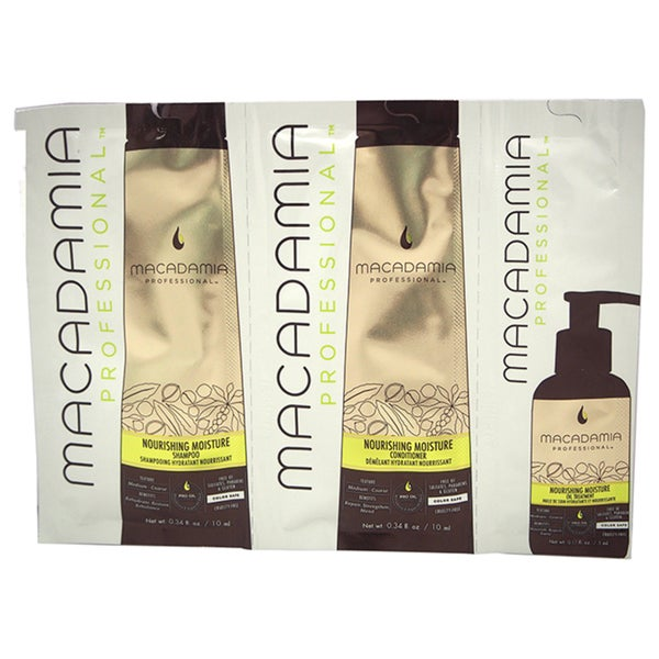 Macadamia Professional Nourishing Moisture Shampoo, Conditioner & Oil Treatment