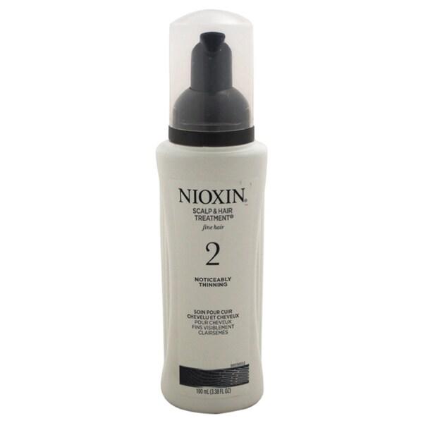 Nioxin System 2 Scalp & Hair 3.38-ounce Treatment for Fine Hair Noticeably Thinning
