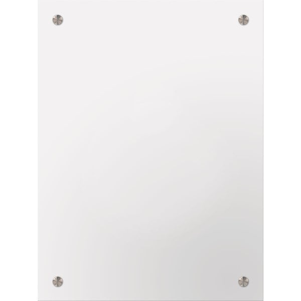 Selections by Chaumont Clear Glass Medium Rectangular Drilled Mirrors (Set of 2) 21187704
