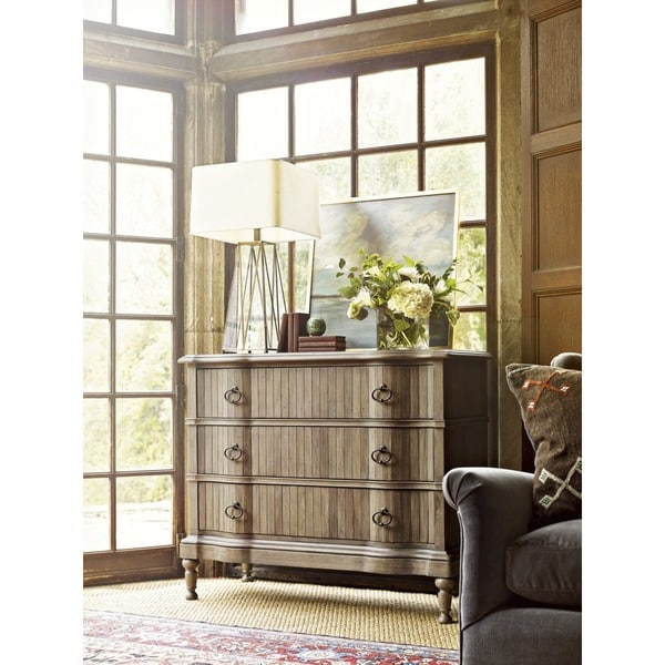 The Chelsea Hall Traditional Wood Chest with Drawers