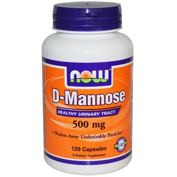 Now Foods 500 Mg D-mannose Healthy Urinary Tract (120 Veggie Caps)