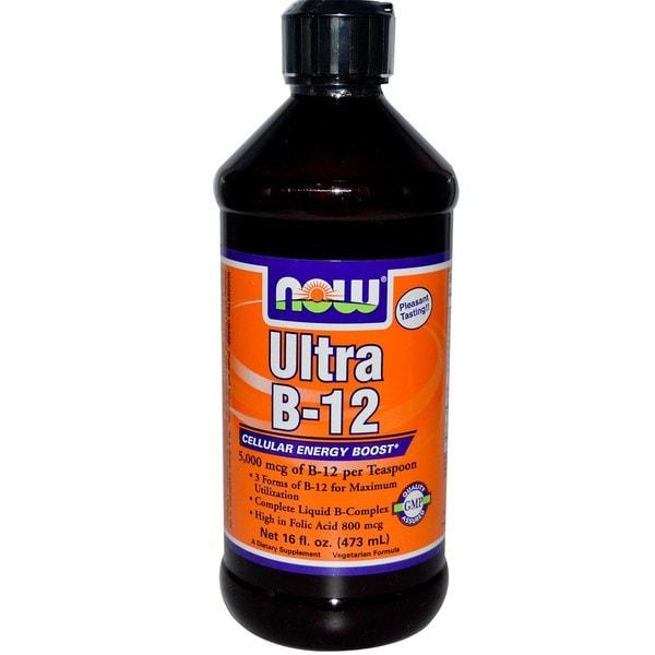 Now Foods 16-ounce Ultra B-12 Liquid