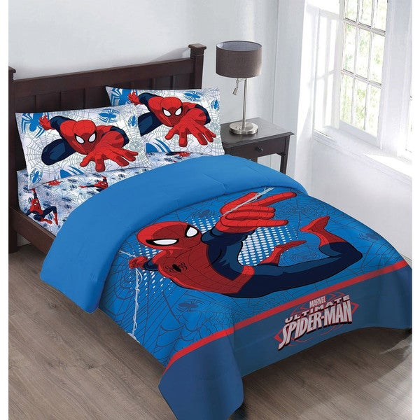 Marvel Spiderman Webbed Wonder 4-piece Bed in a Bag Set