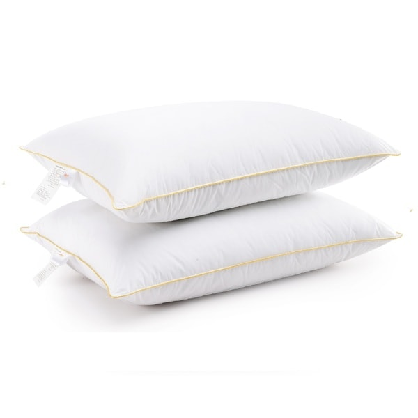 Cheer Collection Hypoallergenic Hollow Fiber Gel Pillows (Set of 2)