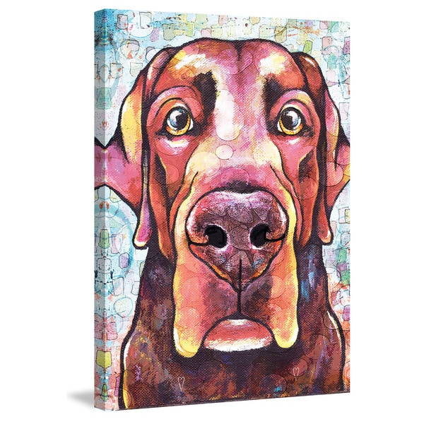Marmont Hill - 'Lab Pop Art' Painting Print on Wrapped Canvas