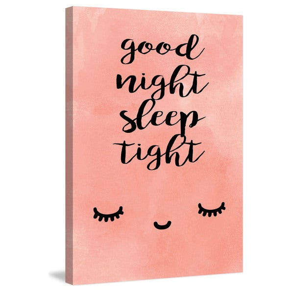 Marmont Hill - 'Sleep Tight' by Diana Alcala Painting Print on Wrapped Canvas