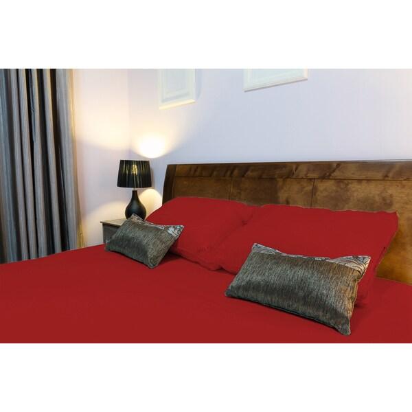 Premium Quality 4-Piece Flat Color Bed Sheet Set- assorted colors
