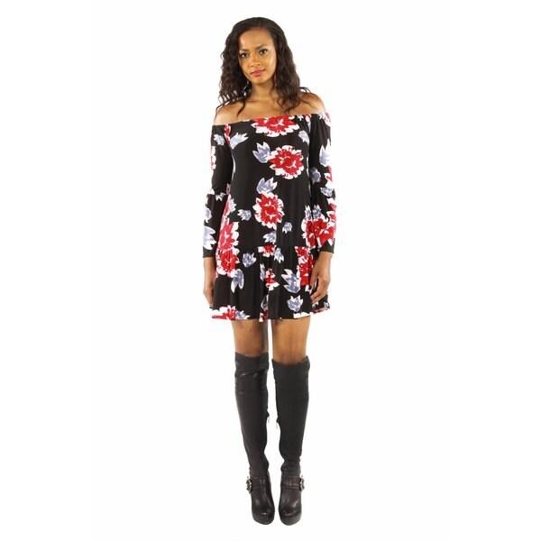 Enticing Black Ruffles Dress