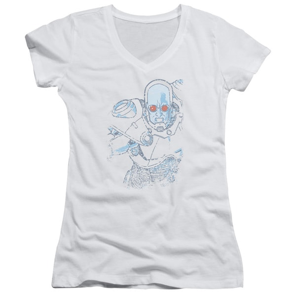 Batman/Snowblind Freeze Junior V-Neck in White 21196485