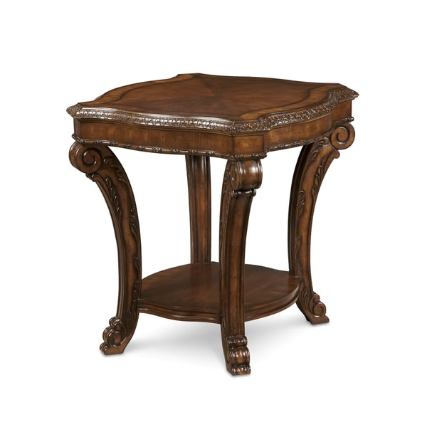 A.R.T. Furniture Old World Rectangular End Table