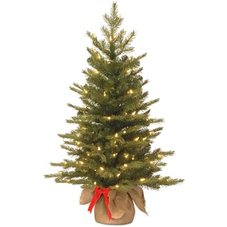 Nordic Spruce Green LED Battery-operated 3-foot Christmas Tree