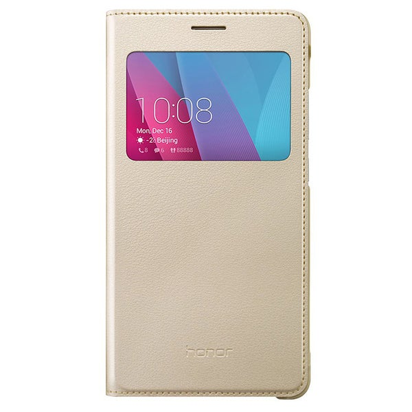 HUAWEI Honor 5X Flip Cover Case - Gold