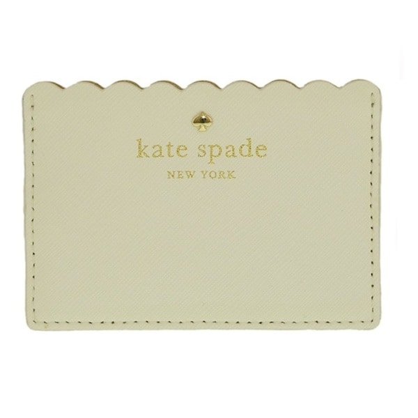 Kate Spade New York Cape Drive Bright White/Porcelain Credit Card Holder