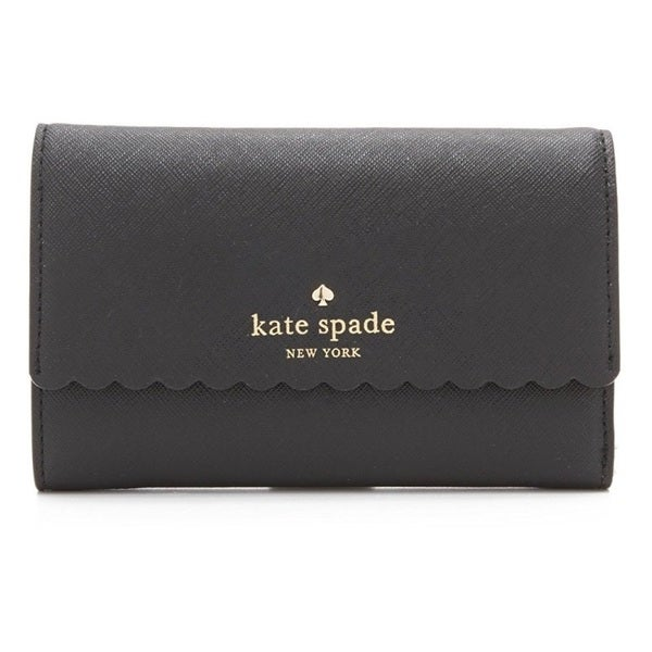 Kate Spade Cape Drive Kieran Black/Bright White Wallet