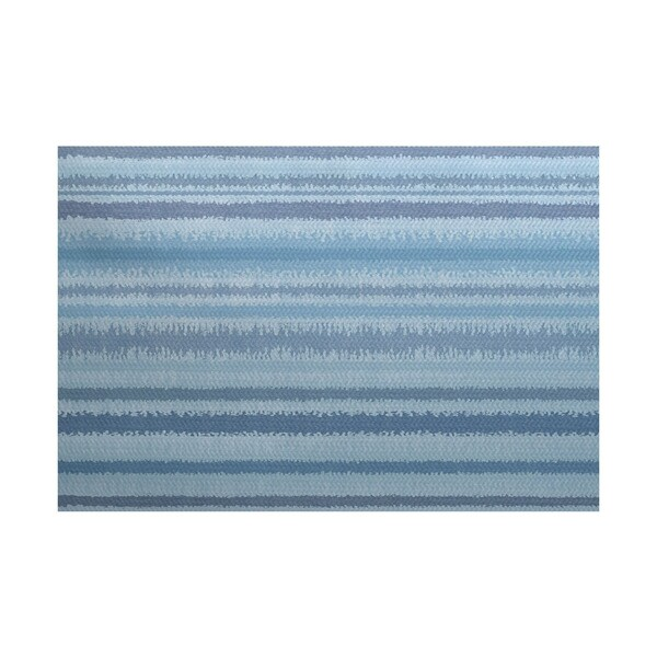 3 x 5-ft, Raya De Agua, Stripe Print Indoor/Outdoor Rug 21205261