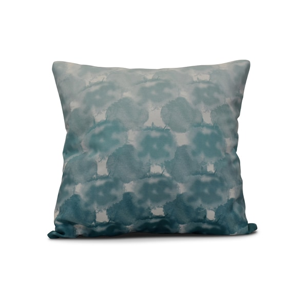 18 x 18-inch, Beach Clouds, Geometric Print Pillow