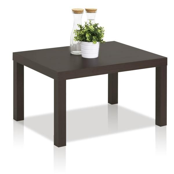 Furinno Espresso MDF Classic Rectangular Coffee Table