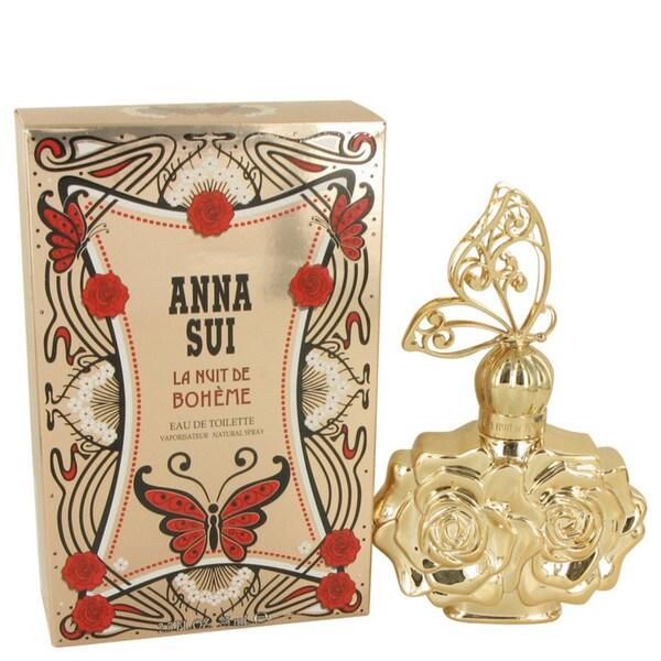 Anna Sui La Nuit de Boheme Women's 2.5-ounce Eau de Toilette Spray