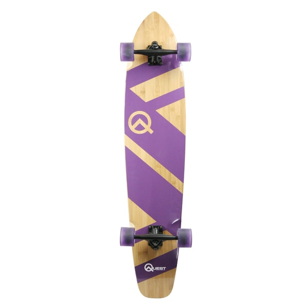 Super Cruiser Purple 44-inch Longboard