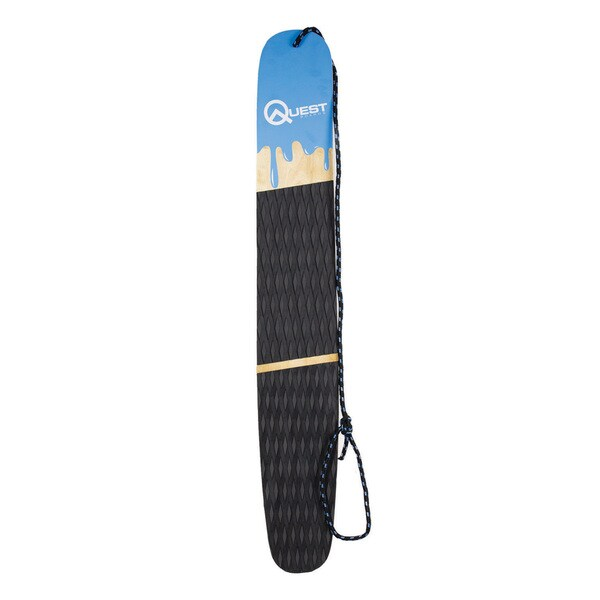 Quest SnoSk8 Hardwood 48-inch Stand-up Sled Board