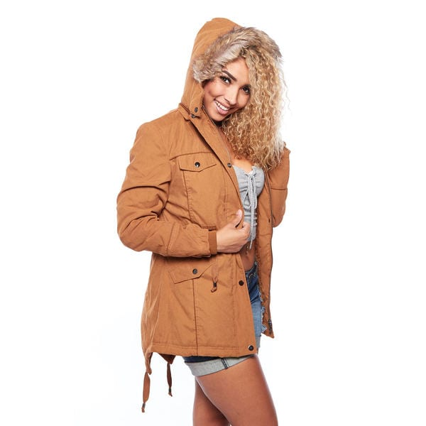 Special One Women's Faux-fur-lined Hooded Winter Parka Jacket