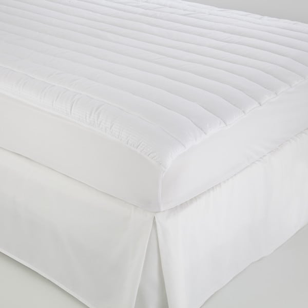 IZOD Anti-Allergen/Anti-Microbial White Mattress Pad