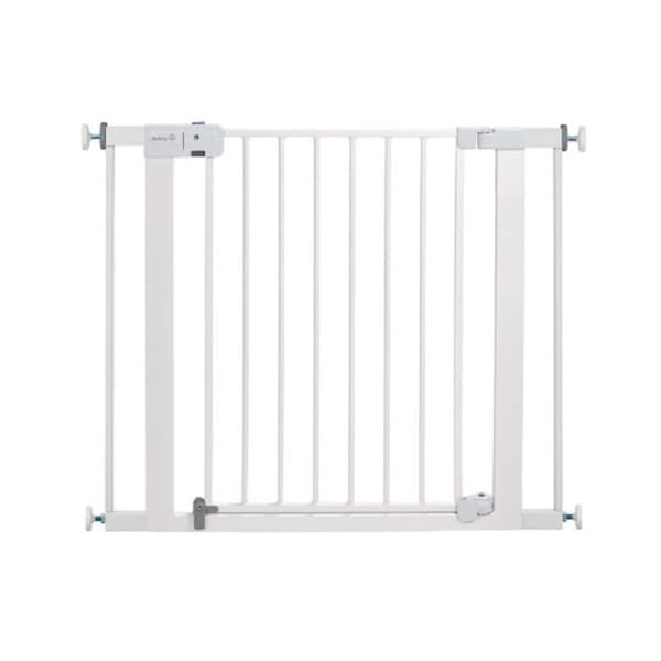 Safety 1st White Metal Easy-install Auto-close Gate