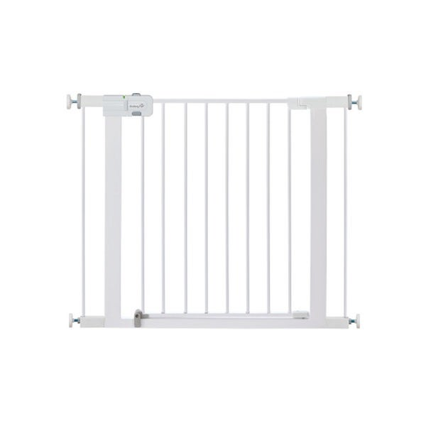 Safety 1st Easy Install White Metal Walk-Thru Gate