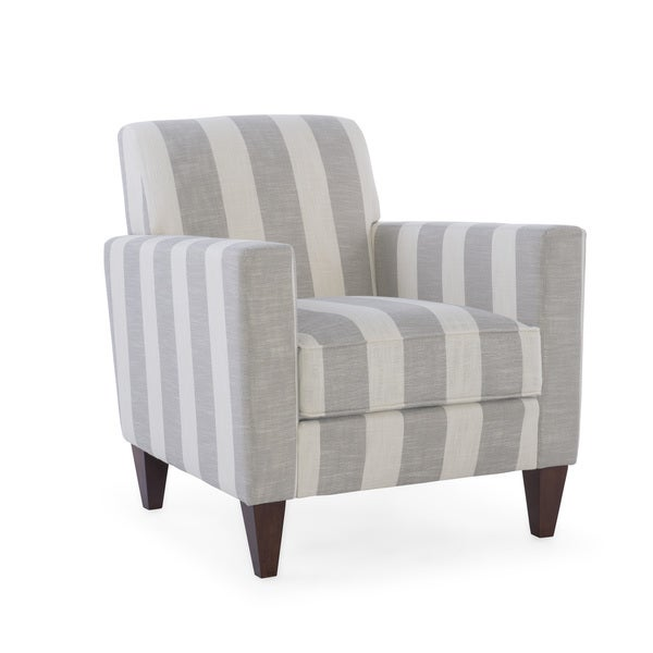 Homeware Alton Wicker and Upholstery Armchair