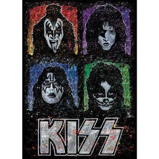 Stephen Fishwick 'The Faces of KISS' Giclee Wall Art