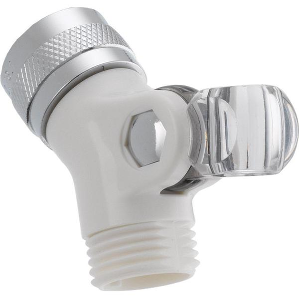 Delta Pin Mount Swivel Connector for Hand Shower in White U4002-WH-PK