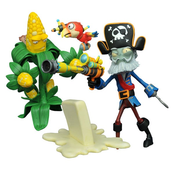 Diamond Select Toys LLC 'Plants vs. Zombies Garden Warfare 2' Select Kernel Corn vs. Captain Deadbeard Action Figure 21213570