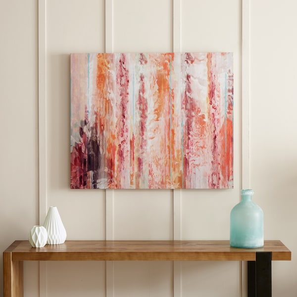 Urban Habitat Passion Coral Gel Coat Canvas With Palette Knife