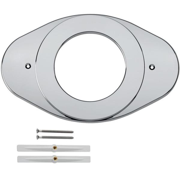 Delta Renovation Cover Plate in Chrome RP29827