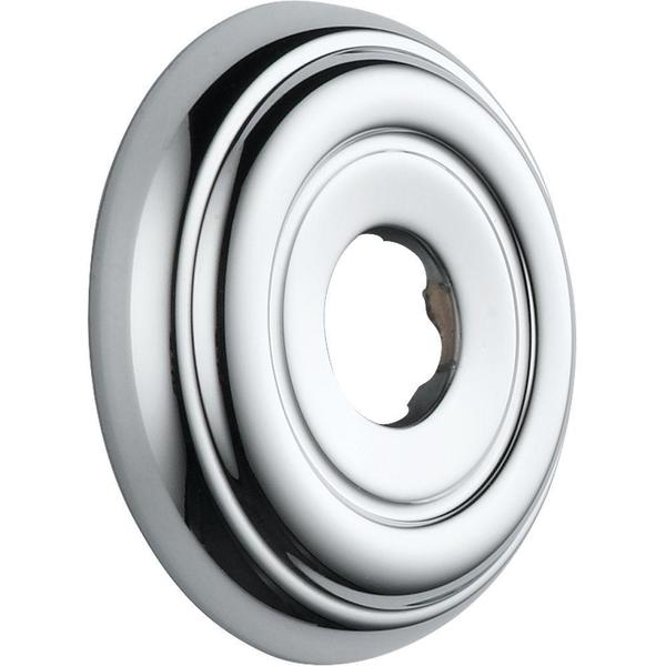 Delta Shower Arm Flange 2.8 In. Diameter in Chrome RP38452