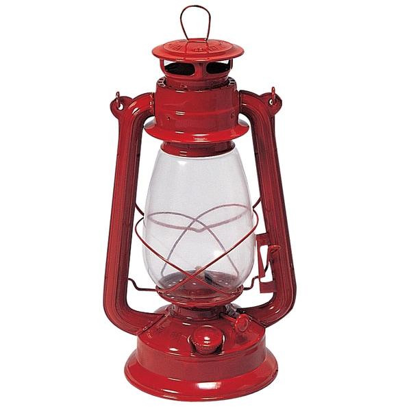 "Stansport 127 12"" Red Kerosene Lantern 21214658"