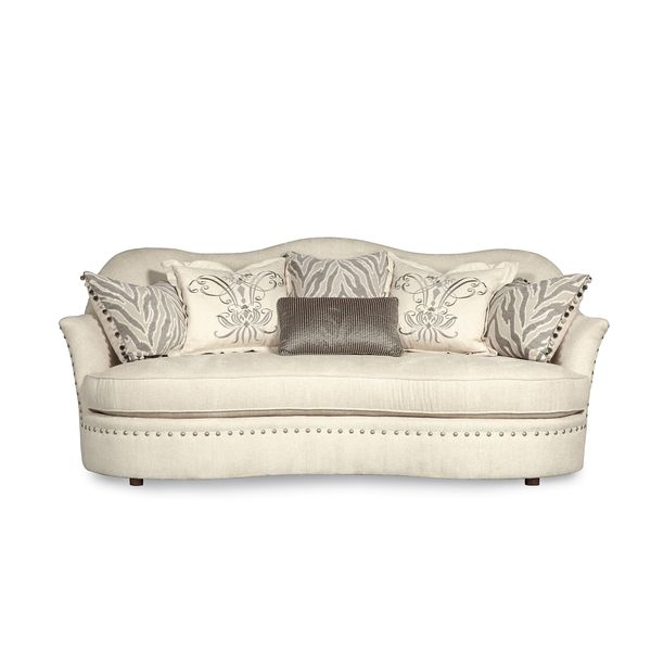 A.R.T. Furniture Amanda Traditional Ivory Sofa