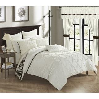 Chic Home Potterville 20-Piece Bed-In-A-Bag Beige Comforter Set